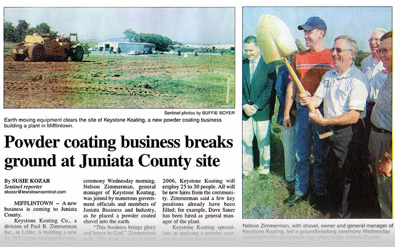Breaking ground in Mifflintown